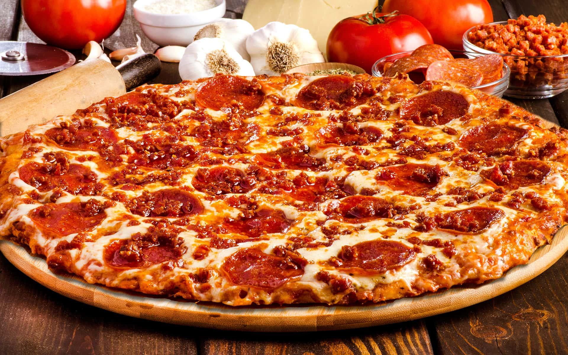 Sir Pizza Pepperoni Feast 1920x1200